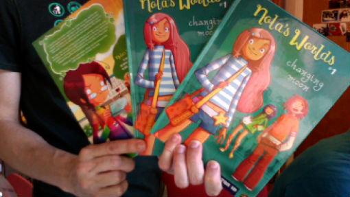 MiniKim with Author copies